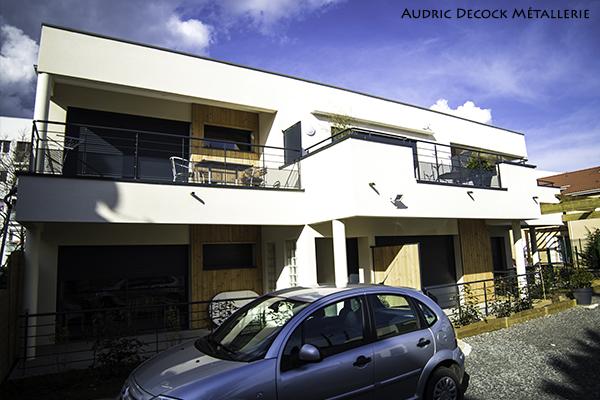 Métallerie pour immeuble dans le 69 Maurice et Lucienne DESSALES