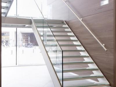 Escalier aluminium design