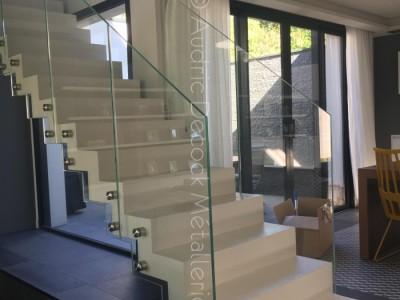 decock m tallerie escaliers et garde corps contemporain lyon 69 verre portail verri re. Black Bedroom Furniture Sets. Home Design Ideas