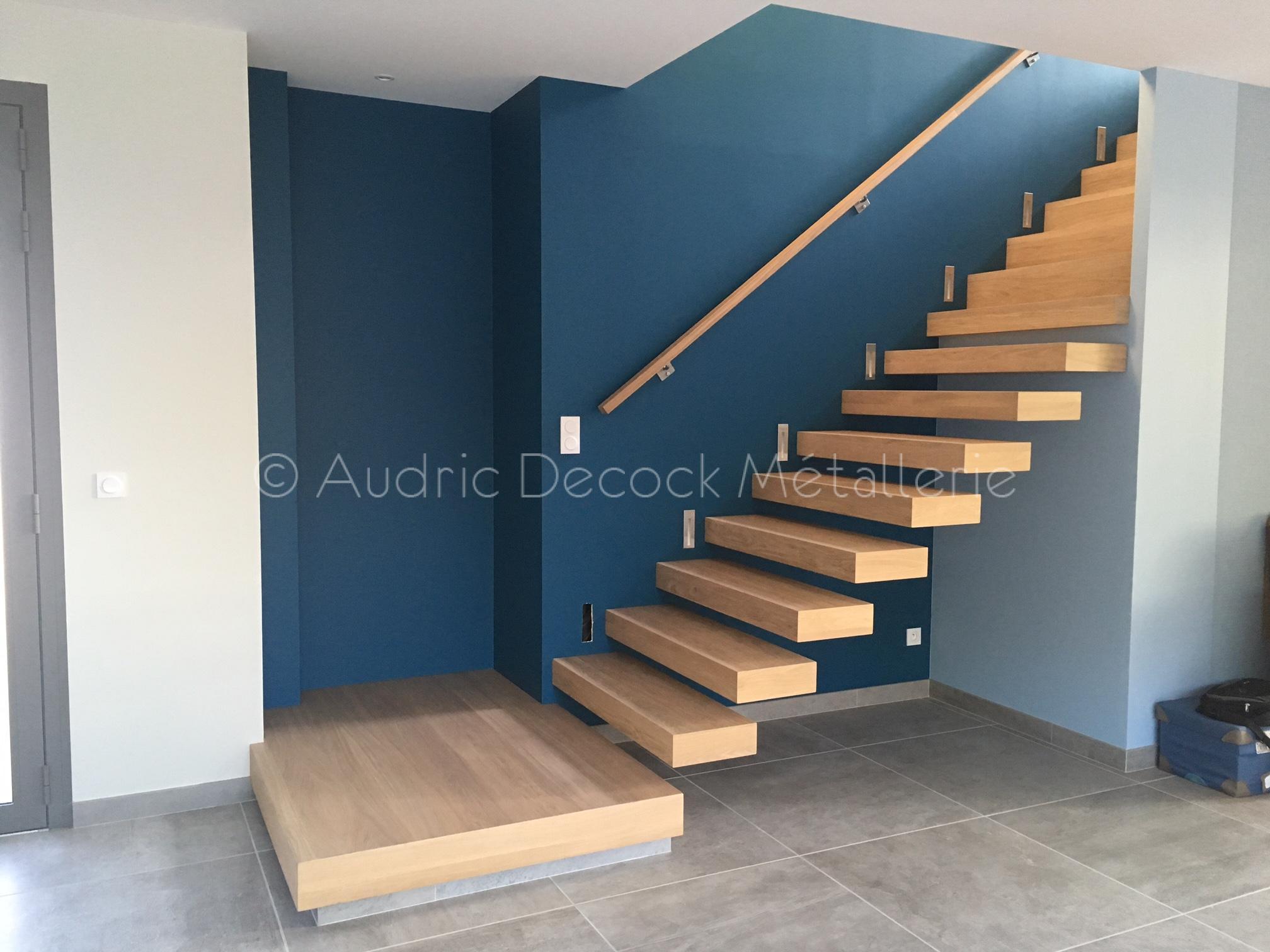 Escalier caissonné